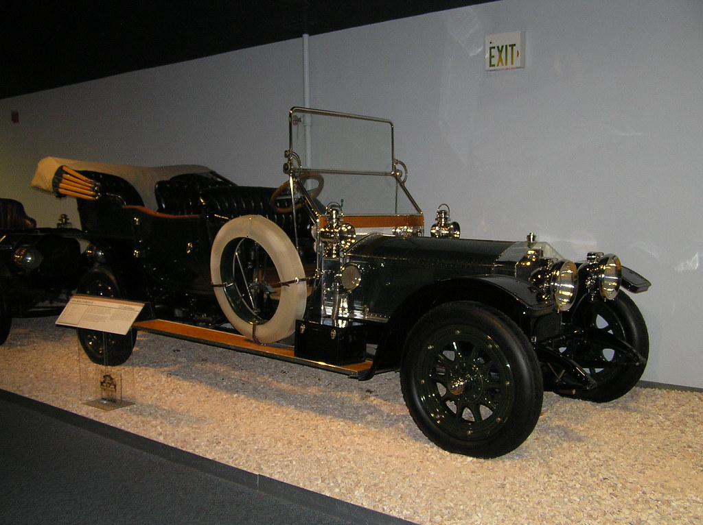 National Auto Museum, Reno - 1910 Rolls-Royce Silver Ghost