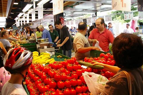 忙碌的菜市場05