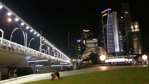 18.Esplanade Drive與新加坡夜景