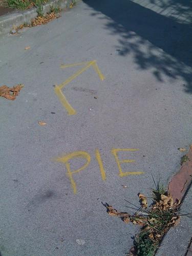 Take me to the pie