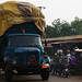 Togo - Bohicon: Large Truck Coming Through
