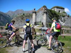 DSCN0229 (Hannibal Cycle tours / Belvedere B&B) Tags: italy holiday cycling italia mountainbike crosscountry fenestrelle valchisonemountainbike colledellefinestra alpinebiking