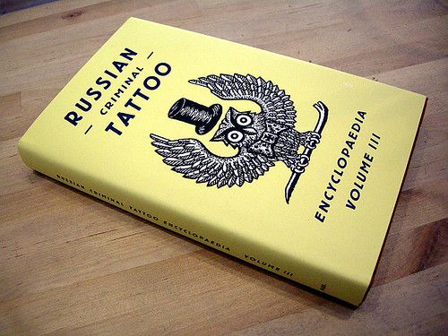 The first two volumes of Russian Criminal Tattoo are still out of print.