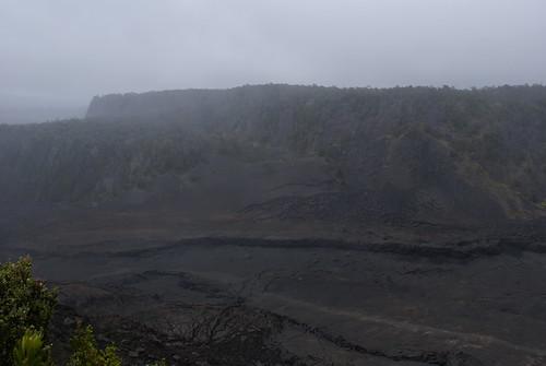 Floor of Kilauea Iki--viewed from Devastation Trail--Volcanoes National Park