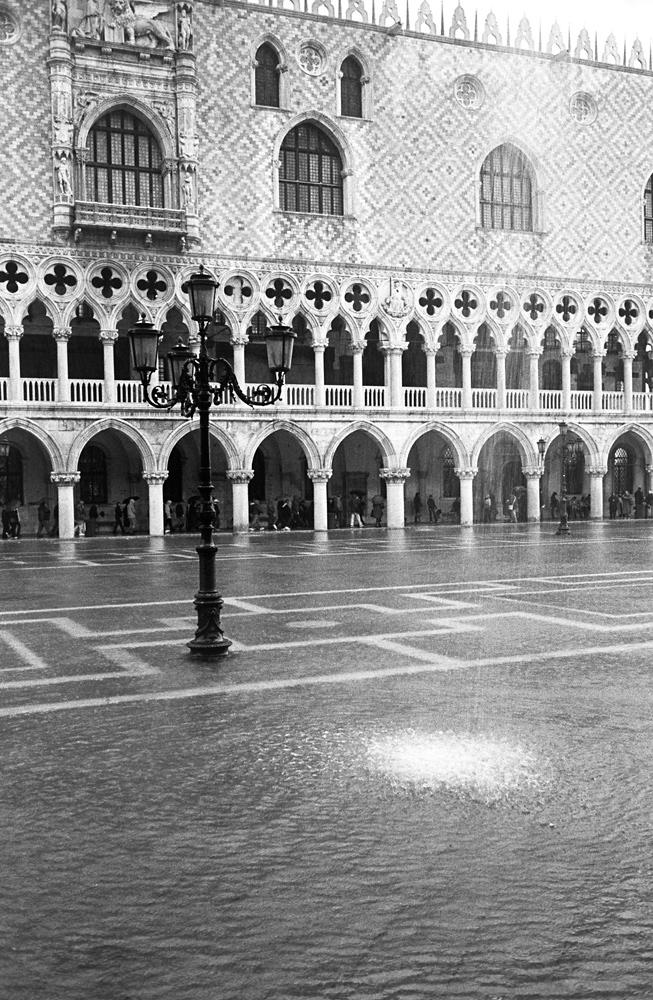 vom Regen verfolgt