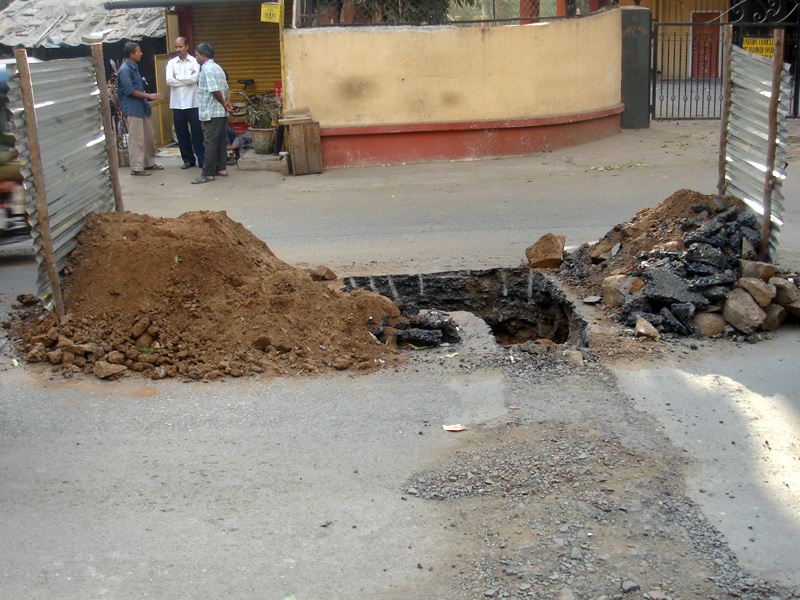 Generic Indian Hole in Road