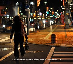 Dotemachi Street Hirosaki Japan.   Glenn E Waters 1,700 visits to this photo.  Thank you. (Glenn Waters in Japan.) Tags: street japan night lights bokeh noflash explore aomori handheld getty  hirosaki 97     8514  5photosaday  nikkor85mmf14d  nikond700 dotemachi  glennwaters 77march7th 80march25th