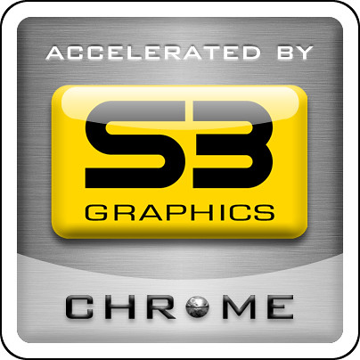 VIA Gallery - Accelerated by S3 Graphics Logo