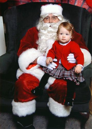 Ardyn and Santa 2008