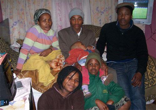 Nezi Busakwe's family