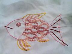 手作。獨處。彩虹珍珠魚完成