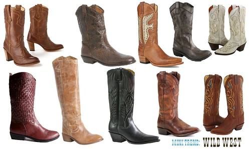Stylish Cowgirl Boots - Cr Boot