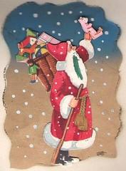 Santa Claus Christmas (hagerstenguy) Tags: santa christmas xmas winter snow weihnachten season pig flake gifts presents greetings merry claus jul wonderland joulu frohe tomten pukki