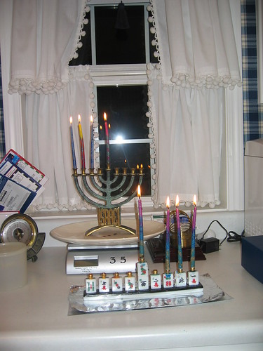 Hanukkah, night three