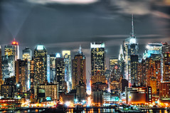 light details (mudpig) Tags: city nyc newyorkcity ny newyork skyline night geotagged long exposure chryslerbuilding hdr mudpig stevekelley