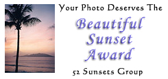 52 Sunsets Award Comment