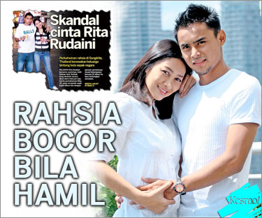 Rita Rudaini dan Aidil Zafuan Sah Nikah di Thailand