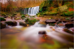 Dream River (andrewwdavies) Tags: longexposure winter cold water river geotagged nationalpark dream breconbeacons explore waterfalls softfocus icy meet picks wfc powys pontneddfechan circularpolariser canonefs1022mmf3545usm afon rhaeadr earlybird ystradfellte brycheiniog neutraldensity explored mellte clungwyn ortoneffect welshflickrcymru waterfallswalk canoneos40d neathandporttalbot andrewwilliamdavies sgwduchafddwli bannaubrecheiniog bwnd106 pontmelinfach geo:lat=51780533 geo:lon=3584933 gettyartistpicksoctober09