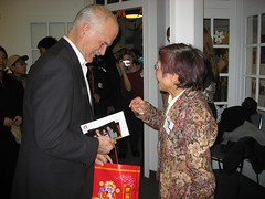 Jack Layton's holiday party