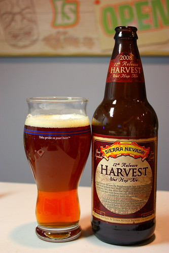 Week 18 - 52 Beers: Sierra Nevada 2008 12th Release Harvest Wet Hop Ale