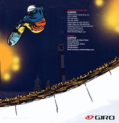 2008 Giro Snow Catalog back cover (Judi Oyama) Tags: santacruz snow sports graphicdesign action think helmet cruz local giro judioyama maximumimpactdesign graphicdesign95060 graphicdesign95003