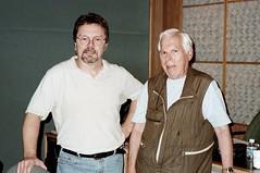 Murray Allen at the studio