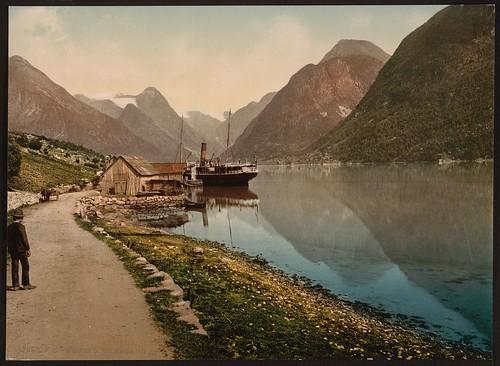 [Mundal, Fjaerland, Sognefjord, Norway] (LOC)
