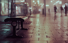 Fog... (Che-burashka) Tags: winter mist london weather fog bench bokeh documentary suburbs gettys fpg 400d infinestyle mondocafeclub gettyskn