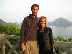Cindy and Me - Halong Bay