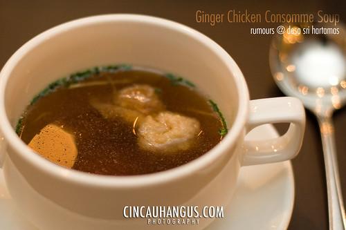 Rumours, Ginger Chicken Consomme - IMG_7739.jpg