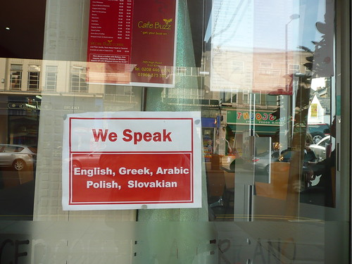 multi-lingual cafe