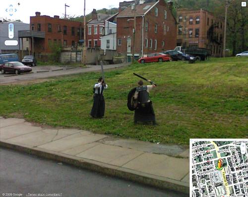 Samurais Google Maps