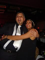 Viren and Dhakshini (deaks30) Tags: christmas party january mokum 2009 volupte