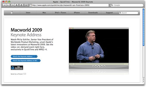 Apple Keynote Webcast