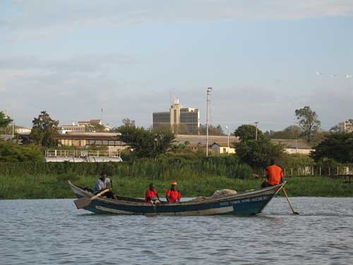 Kisumu-boat