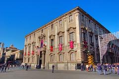 Palazzo del Municipio (SignorG) Tags: catania santagata