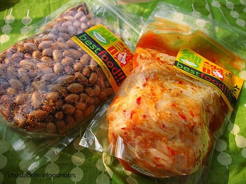 饗讚泡菜與花生米