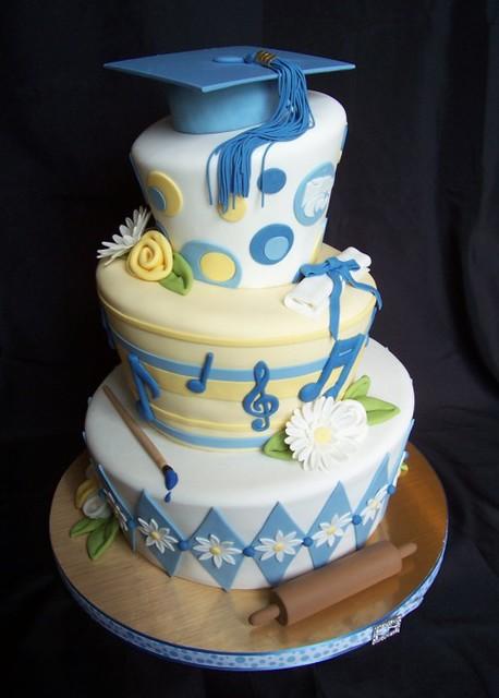 Anne's graduation cake