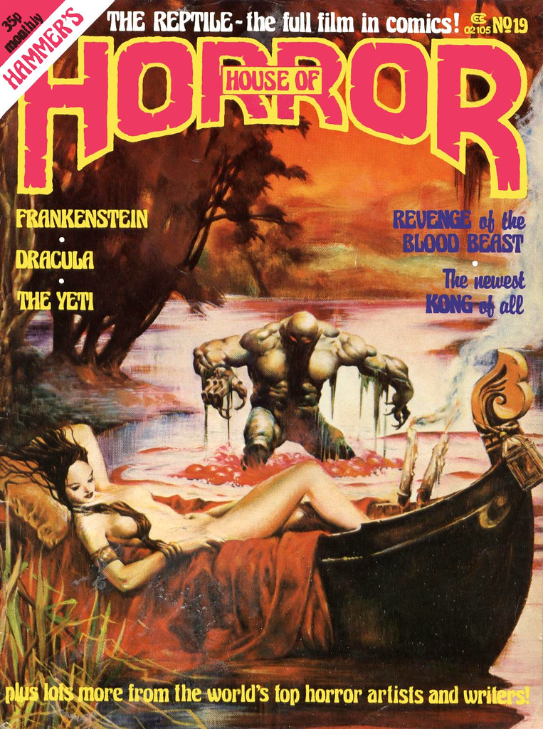 House Of Hammer Magazine  (House Of Horror) - Issue 19 (1981)