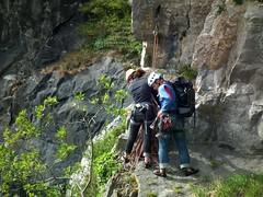 Avon Gorge climbers (amy's antics) Tags: trees green bristol rocks gorge avon climbers flickrwalk