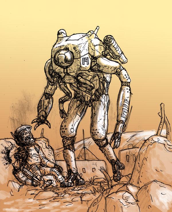 military-cyborg
