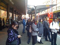 We're all still waiting for a bus to Balmain behind QVB #stafail