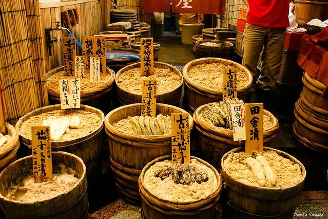 錦市場 醬菜