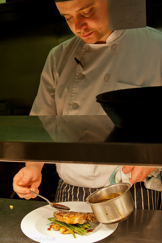 Head Chef Tom Kneale