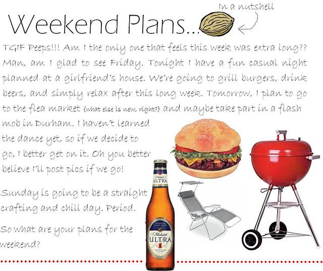 weekend plans 6.24