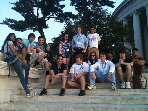 NSLC International Diplomacy at Jefferson Memorial