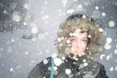 Snow smoke (-Antoine-) Tags: winter mars woman snow canada storm girl march topf50 montral quebec montreal cigarette smoke hiver femme north snowstorm smoking qubec finepix invierno neige z10 smoker ge hutchison blizzard 2008 fille genevive genevieve tempte tempete quebecer qubcoise parcex fumeuse parkextension montrealer parcextension quebecoise parkex montrealaise snowsmoke montrlaise antoinerouleau