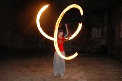 k (Ferox Ignis) Tags: show fire dance poi ignis gra ferox zielona