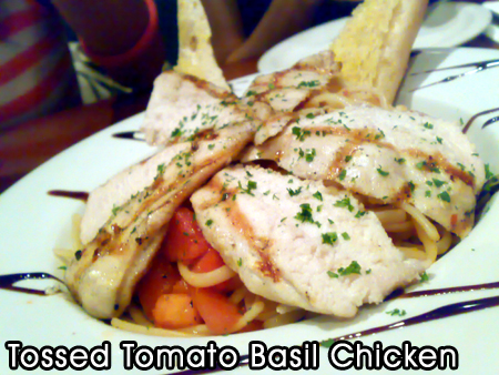 Tossed Tomato Basil Chicken