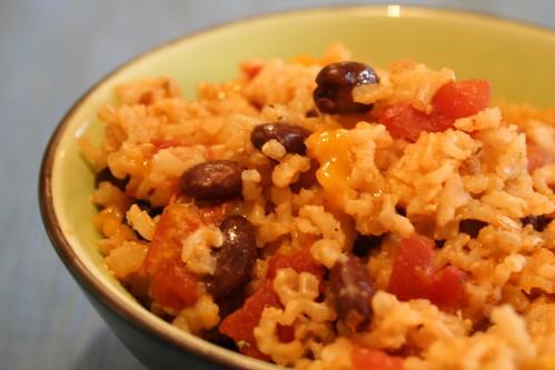 tex mex brown rice